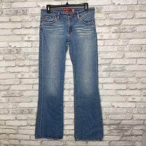 Big Star Bootcut Jeans 31R Light Wash